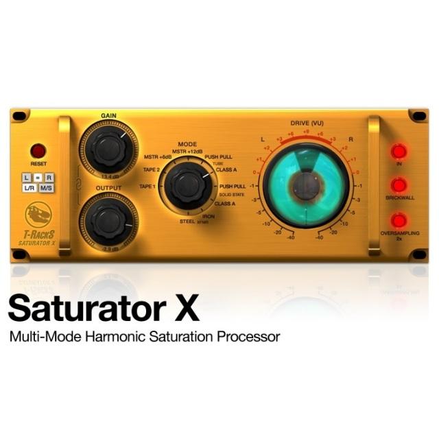 IK Multimedia/T-RackS Saturator X【オンライン納品】