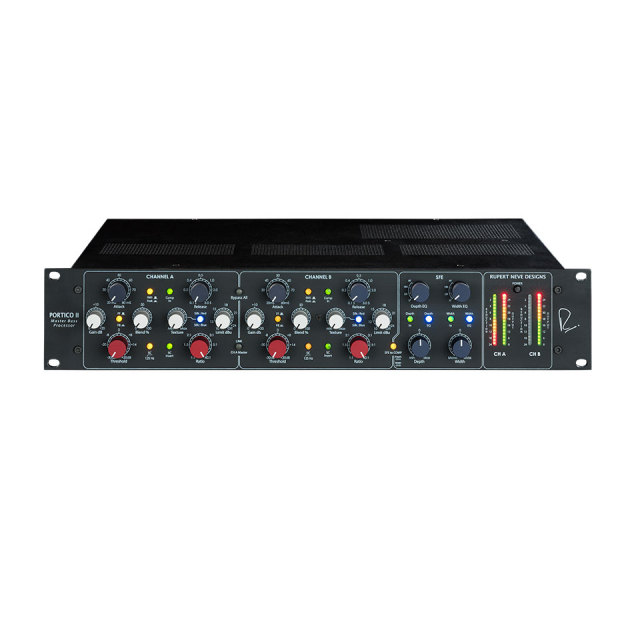 Rupert Neve Designs/Portico II Master Buss Processor  Black【お取り寄せ商品】