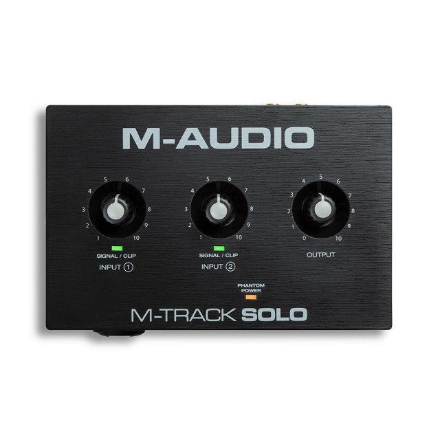 M-Audio/M-Track Solo【ご予約受付中】