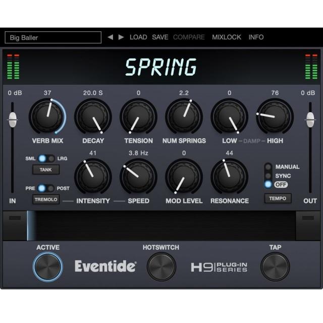 Eventide/Spring Reverb【オンライン納品】