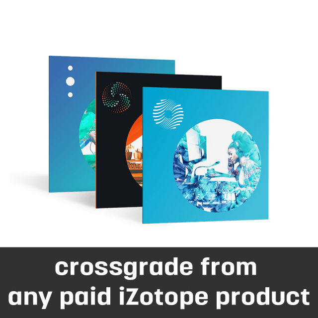 iZotope/Mix and Master Bundle crossgrade from any paid iZotope product【オンライン納品】