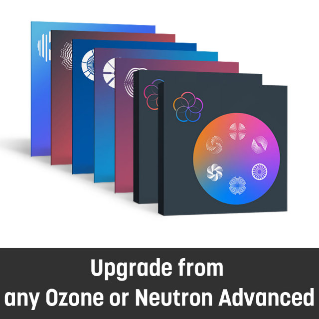 iZotope/Everything Bundle Upgrade from any Ozone or Neutron Advanced【オンライン納品】