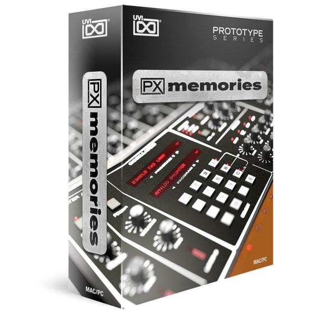 UVI/PX Memories【オンライン納品】