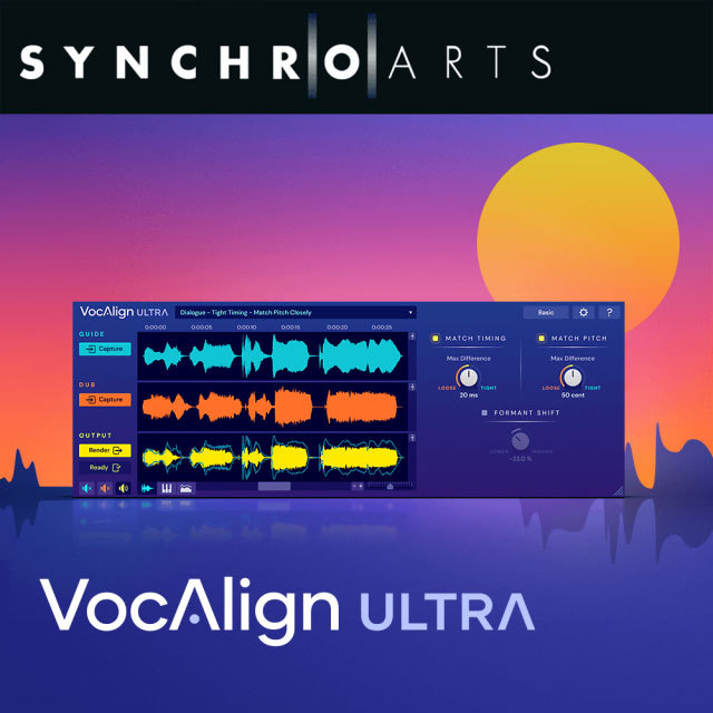 SynchroArts/VocAlign Ultra - New License【オンライン納品】