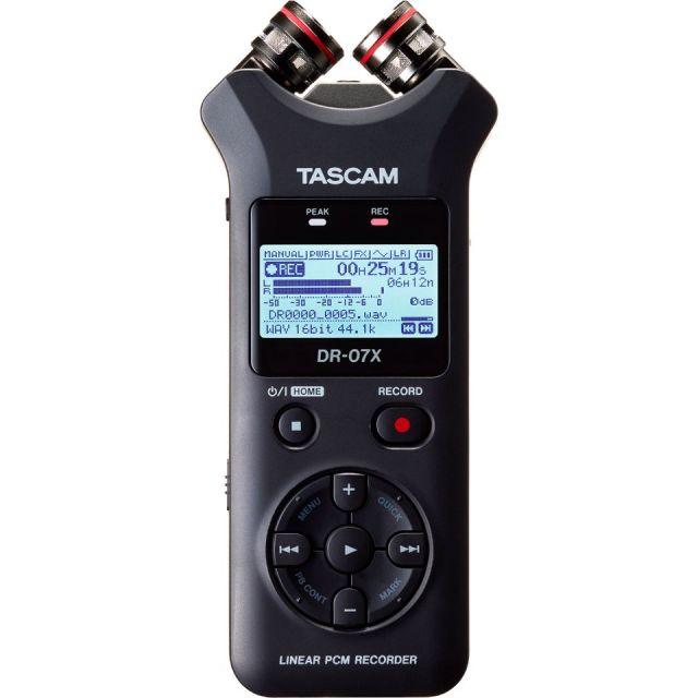 TASCAM/DR-07X【納期未定】【入荷待ち、ご予約受付中】