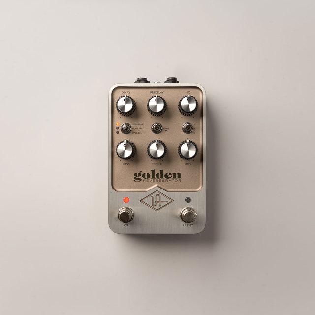 UNIVERSAL AUDIO/UAFX Golden Reverberator【5月21日発売予定】【ご予約受付中】