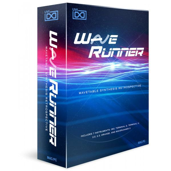 UVI/WaveRunner【期間限定特価キャンペーン】【オンライン納品】
