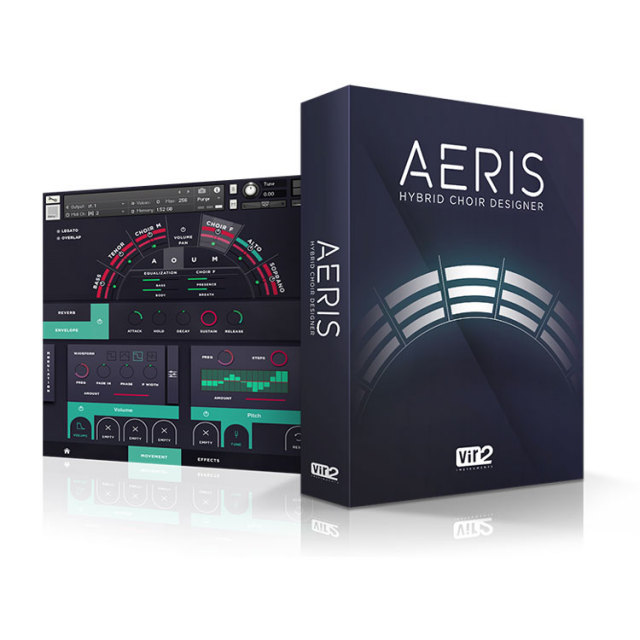 VIR2/AERIS:HYBRID CHOIR DESIGNER【ダウンロード版】【オンライン納品】【在庫あり】