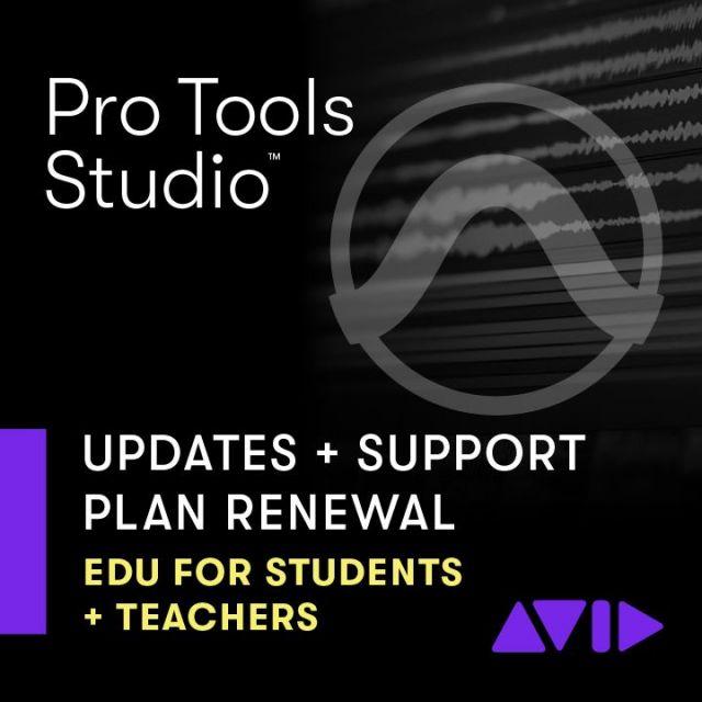 Avid/Pro Tools 1-Year Software Updates + Support Plan 【アカデミック】【更新版】【オンライン納品】【在庫あり】
