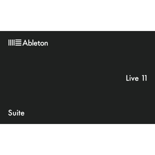 Ableton/Live 11 Suite【オンライン納品】【在庫あり】