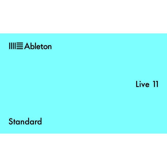 Ableton/Live 11 Standard【オンライン納品】【在庫あり】