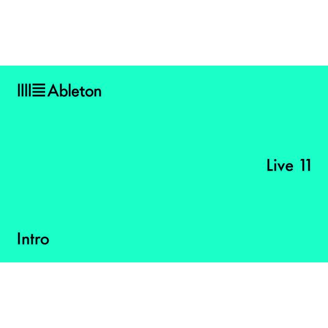 Ableton/Live 11 Intro【オンライン納品】【在庫あり】