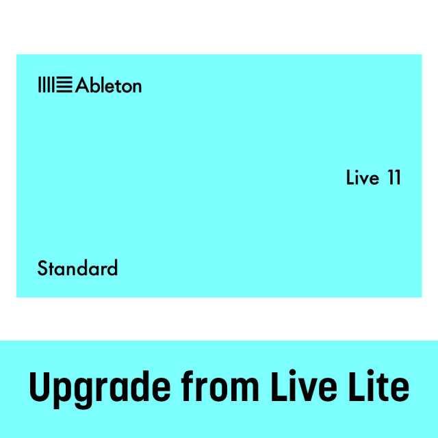 Ableton/Live 11 Standard Upgrade from Live Lite【オンライン納品】【在庫あり】