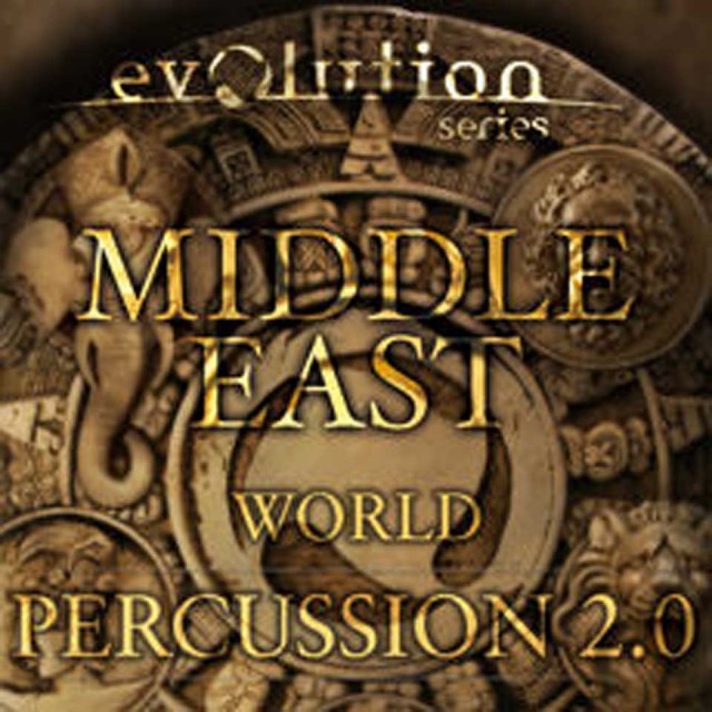 EVOLUTION SERIES/WORLD PERCUSSION 2.0 / MIDDLE EAST【オンライン納品】【在庫あり】