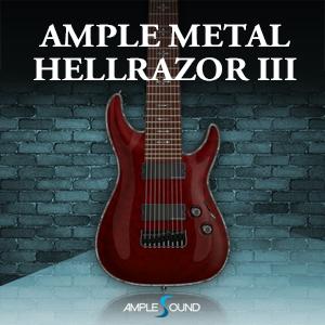 AMPLE SOUND/AMPLE METAL HELLRAZOR III【オンライン納品】【在庫あり】