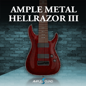 AMPLE SOUND/AMPLE METAL HELLRAZOR III【オンライン納品】【在庫あり】
