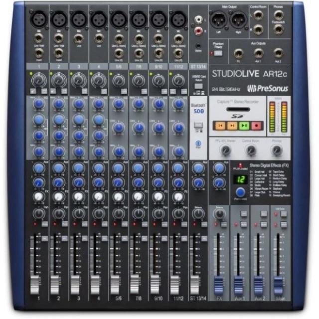 PreSonus/StudioLive AR12c