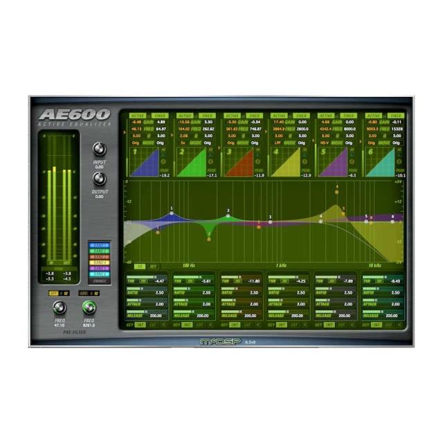 McDSP/AE600 Active EQ Native【オンライン納品】【在庫あり】