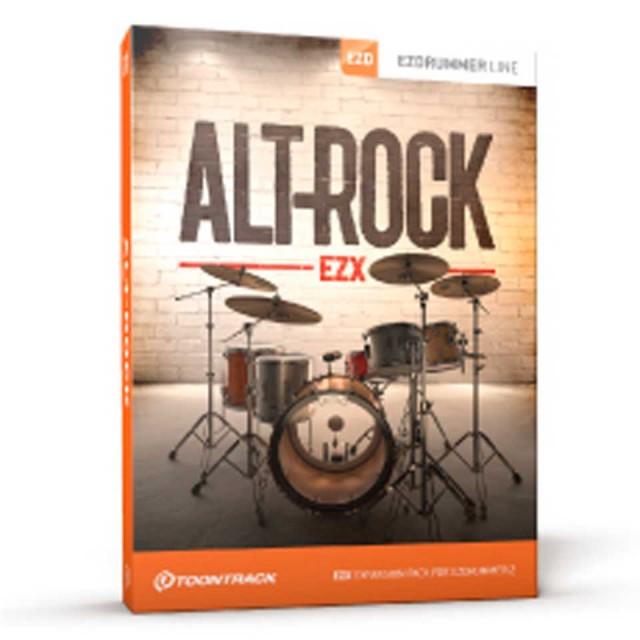 TOONTRACK/EZX ALT-ROCK【オンライン納品】