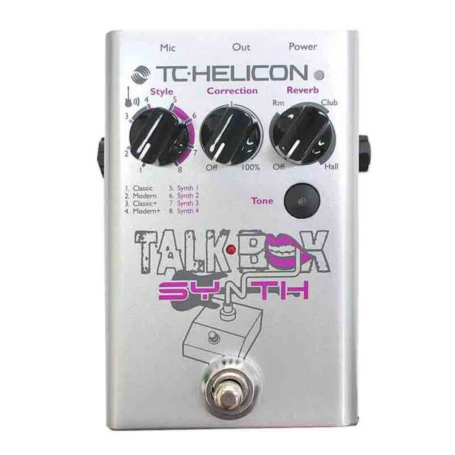 TC Helicon/Talkbox Synth【在庫あり】【1903決算R1】