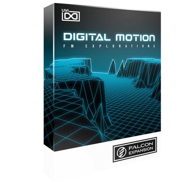 UVI/Digital Motion for Falcon【FALCON専用拡張パック】【オンライン納品】