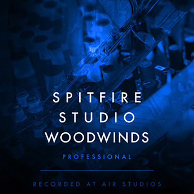 SPITFIRE AUDIO/SPITFIRE STUDIO WOODWINDS PROFESSIONAL【オンライン納品】