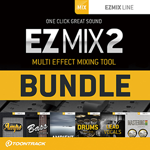 TOONTRACK/EZMIX2 BUNDLE - COMPLETE PRODUCTION【オンライン納品】【在庫あり】