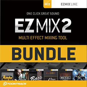TOONTRACK/EZMIX2 BUNDLE - ROCK&METAL GUITAR【オンライン納品】【在庫あり】
