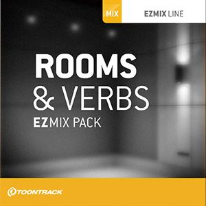 TOONTRACK/EZMIX2 PACK - ROOMS & VERBS【オンライン納品】【在庫あり】