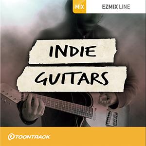 TOONTRACK/EZMIX2 PACK - INDIE GUITARS【オンライン納品】【在庫あり】