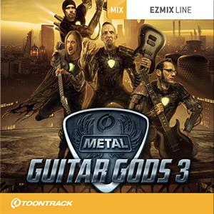 TOONTRACK/EZMIX2 PACK - METAL GUITAR GODS 3【オンライン納品】【在庫あり】