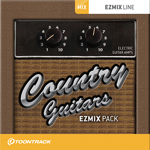 TOONTRACK/EZMIX2 PACK - COUNTRY GUITARS【オンライン納品】【在庫あり】