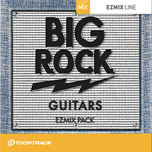 TOONTRACK/EZMIX2 PACK - BIG ROCK GUITARS【オンライン納品】【在庫あり】