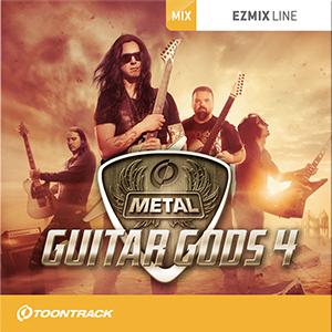 TOONTRACK/EZMIX2 PACK - METAL GUITAR GODS 4【オンライン納品】【在庫あり】