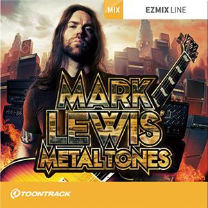 TOONTRACK/EZMIX2 PACK - MARK LEWIS METALTONES【オンライン納品】【在庫あり】