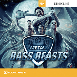 TOONTRACK/EZMIX2 PACK - METAL BASS BEASTS【オンライン納品】【在庫あり】