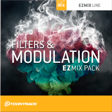 TOONTRACK/EZMIX2 PACK - FILTERS & MODULATION【オンライン納品】【在庫あり】