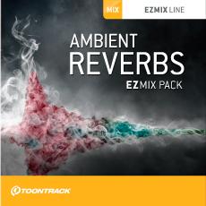 TOONTRACK/EZMIX2 PACK - AMBIENT REVERBS【オンライン納品】【在庫あり】