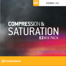 TOONTRACK/EZMIX2 PACK - COMPRESSION & SATURATION【オンライン納品】【在庫あり】