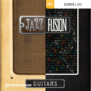 TOONTRACK/EZMIX2 PACK - JAZZ & FUSION GUITARS【オンライン納品】【在庫あり】