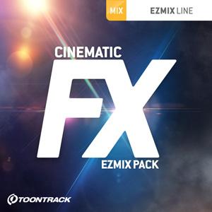 TOONTRACK/EZMIX2 PACK - CINEMATIC FX【オンライン納品】【在庫あり】