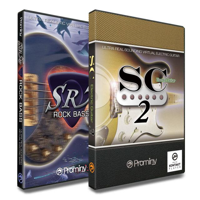 Prominy/SR5 Rock Bass 2 & SC スペシャルバンドル【オンライン納品】