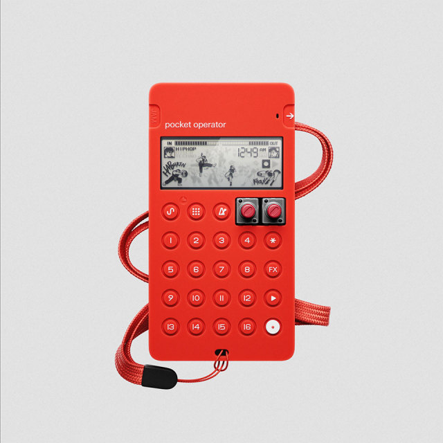 Teenage Engineering/CA-X red【在庫あり】