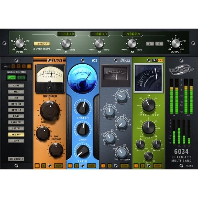 McDSP/6034 Ultimate Multi-band Native v6【オンライン納品】