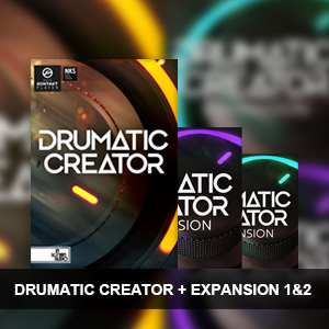 In Session Audio/DRUMATIC CREATOR + EXPANSION 1&2【オンライン納品】