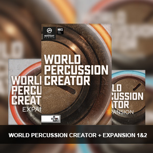 In Session Audio/WORLD PERCUSSION CREATOR + EXPANSION 1&2【オンライン納品】
