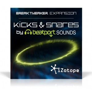 iZotope/BreakTweaker Expansion: Kicks and Snares by BeatPort Sounds【オンライン納品】