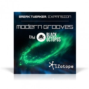 iZotope/BreakTweaker Expansion: Modern Grooves by Black Octopus【オンライン納品】