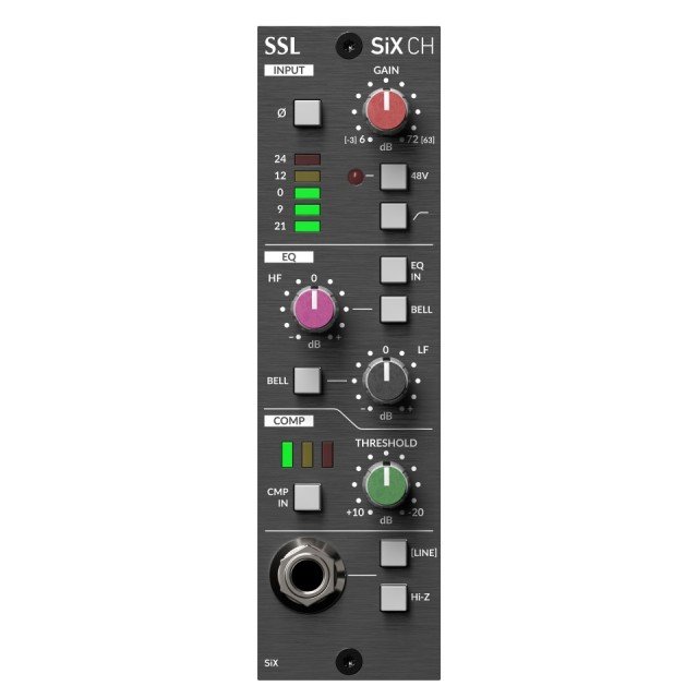 Solid State Logic/500 Series SiX Channel【5月下旬入荷予定】【ご予約受付中】