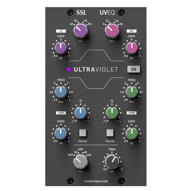 Solid State Logic/500 Series Ultra Violet EQ【5月下旬入荷予定】【ご予約受付中】